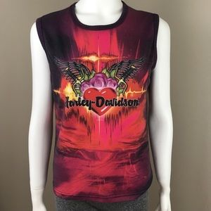 Women's Harley Davidson Sleeveless Large